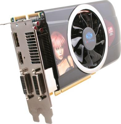 Видеокарта Sapphire HD 5770 1024MB GDDR5 (11163-17-10G) - вид сбоку