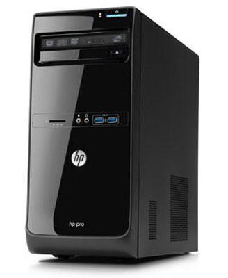 Системный блок HP Pro 3400 (LH128EA) - повернут
