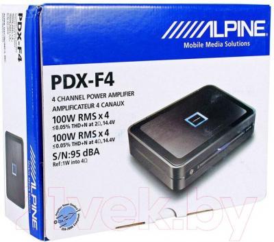 Автомобильный усилитель Alpine PDX-F4
