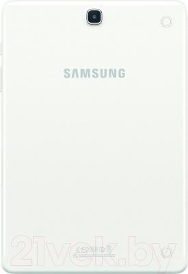 Планшет Samsung Galaxy Tab A 9.7 16GB LTE / SM-T555 (белый) - вид сзади