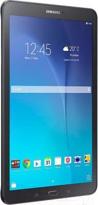 Планшет Samsung Galaxy Tab E 8GB / SM-T560 (черный металлик) - вид сбоку