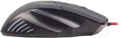 Мышь Gembird MUSG-02 (черный) - вид сбоку