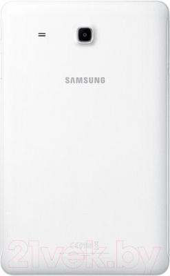 Планшет Samsung Galaxy Tab E 8GB / SM-T560 (перламутровый белый) - вид сзади