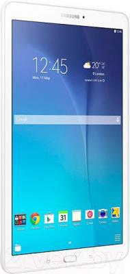 Планшет Samsung Galaxy Tab E 8GB / SM-T560 (перламутровый белый) - вид сбоку