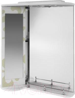 Зеркало для ванной Ванланд Аркадия Арз 3-65 (левый, оливковый)