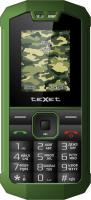 Мобильный телефон TeXet TM-509R (черно-зеленый) -