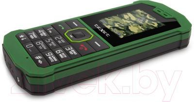 Мобильный телефон TeXet TM-509R (черно-зеленый)