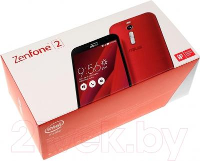 Смартфон Asus ZenFone 2 ZE551ML (красный)