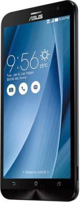 Смартфон Asus ZenFone 2 ZE551ML (серебристый)