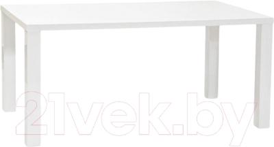 Обеденный стол Signal Montego 160x90 (белый лак)
