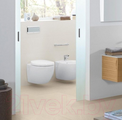 Унитаз подвесной Villeroy & Boch Aveo New Generation 6612-10 (альпийский белый CeramicPlus)