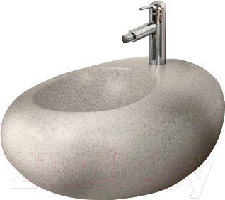 Биде подвесное Villeroy & Boch Pure Stone 547001 (серый)