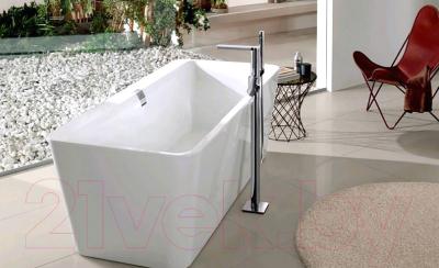 Ванна квариловая Villeroy & Boch Squaro Edge 12 UBQ170SQE2DV-01 (170x75, с ножками и сифоном)