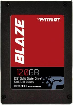SSD диск Patriot Blaze 120GB (PB120GS25SSDR)