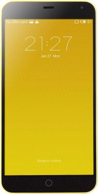 Смартфон Meizu M1 Note (16Gb, желтый)