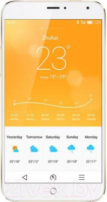 Смартфон Meizu MX4 (32GB, золотой)