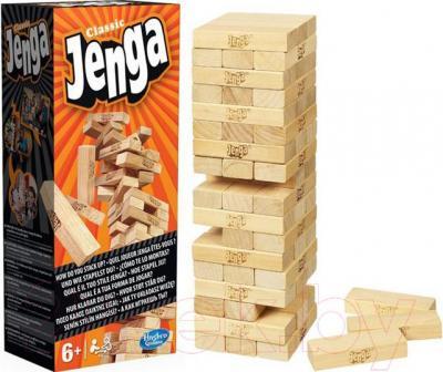 Настольная игра Hasbro Дженга Классическая / Jenga Classic (А2120E24) - общий вид
