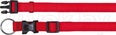 Ошейник Trixie Classic 14233 (L-XL, красный) - общий вид