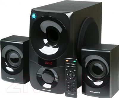Мультимедиа акустика Nakatomi GS-35 (черный) - общий вид