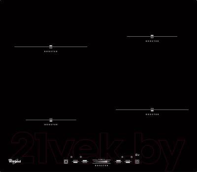 Индукционная варочная панель Whirlpool ACM 836/BA