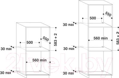 Электрический духовой шкаф Whirlpool AKZM 8500/IX