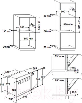 Электрический духовой шкаф Bauknecht BCTMS 9100 IXL