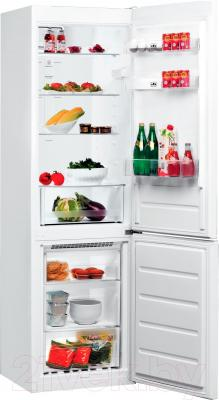 Холодильник с морозильником Whirlpool BSNF 8121 W