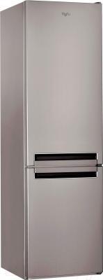 Холодильник с морозильником Whirlpool BSNF 9151 OX