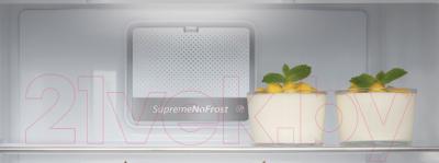 Холодильник с морозильником Whirlpool BSNF 9452 OX