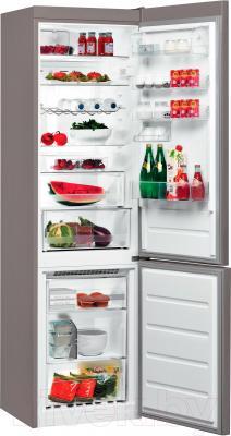 Холодильник с морозильником Whirlpool BSNF 9752 OX