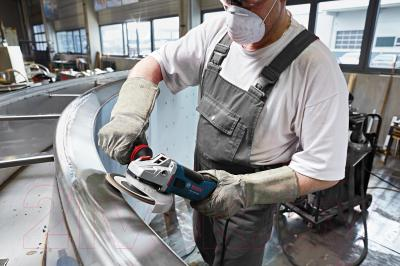 Профессиональная болгарка Bosch GWS 15-125 Inox Professional (0.601.79X.008) - в работе