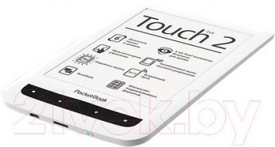 Электронная книга PocketBook Touch Lux 2 / 626 (белый, с чехлом)