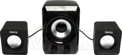 Мультимедиа акустика Dialog Colibri AC-202UP (черный) - общий вид