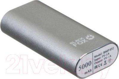 Портативное зарядное устройство Black Fox BMP052 (серебристый)