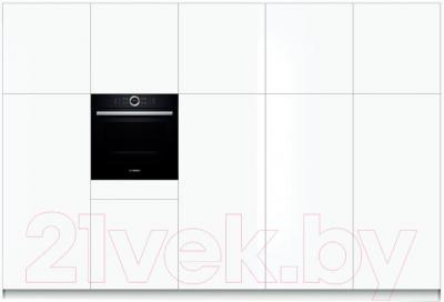 Электрический духовой шкаф Bosch HBG634BB1