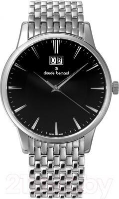Часы мужские наручные Claude Bernard 63003-3M-NIN