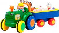 Игровой набор Kiddieland Трактор фермера с прицепом 049726 -