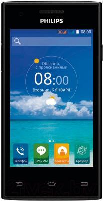 Смартфон Philips S309 (черный)