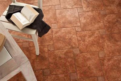 Декоративная плитка ColiseumGres Фриули Красный Орхидея (72x72)