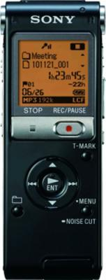 Цифровой диктофон Sony ICD-UX512 Black - вид спереди