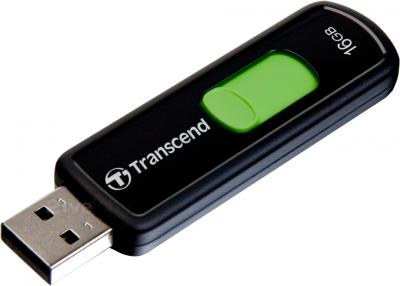 Usb flash накопитель Transcend JetFlash 500 16 Gb (TS16GJF500) - общий вид