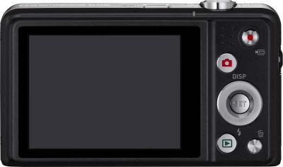 Компактный фотоаппарат Casio Exilim EX-ZS100 (черный) - вид сзади