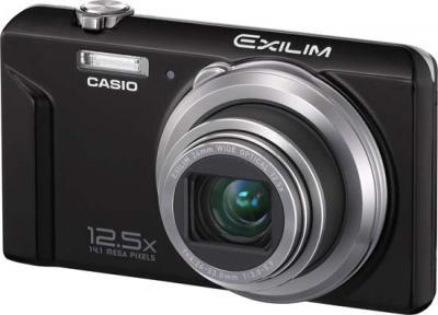 Компактный фотоаппарат Casio Exilim EX-ZS100 (черный) - общий вид