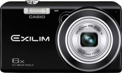 Компактный фотоаппарат Casio Exilim EX-ZS20 (черный) - общий вид