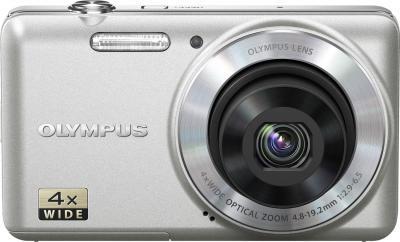 Компактный фотоаппарат Olympus VG-150 Silver - вид спереди
