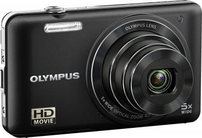 Компактный фотоаппарат Olympus VG-160 Black - общий вид