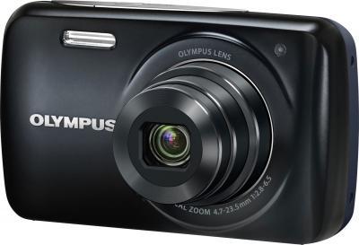 Компактный фотоаппарат Olympus VH-210 Black - общий вид