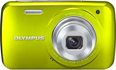 Компактный фотоаппарат Olympus VH-210 Green - вид спереди