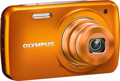 Компактный фотоаппарат Olympus VH-210 Orange - общий вид