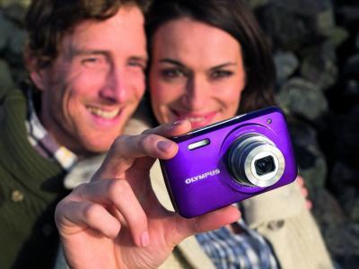 Компактный фотоаппарат Olympus VH-210 Purple - общий вид